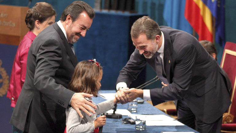 Los momentos más destacados de la entrega de los Premios Príncipe de Asturias 2013