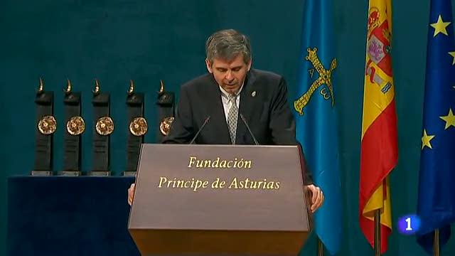 Premios Príncipe de Asturias-Discurso de Arturo Álvarez-Buylla