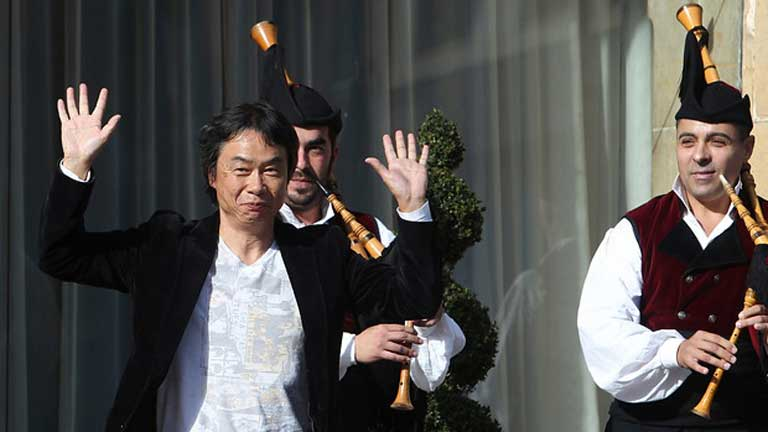 Shigeru Miyamoto Premio Príncipe de Asturias de Comunicación
