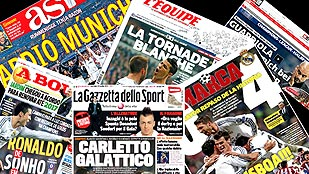 Real Madrid - Prensa