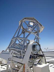El Telescopio solar GREGOR, el más grande de Europa, en el Observatorio del Teide del IAC, Tenerife