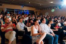 Mucho público en la presentación de los Premios Bitácoras 2012.