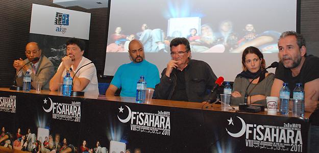 Presentación del Festival de Cine del Sáhara, FISahara