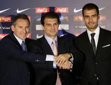 Presentación de Guardiola