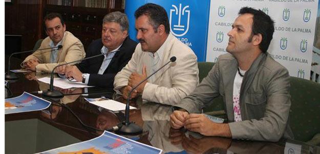 Presentación de la IX edición del Festivalito de La Palma.