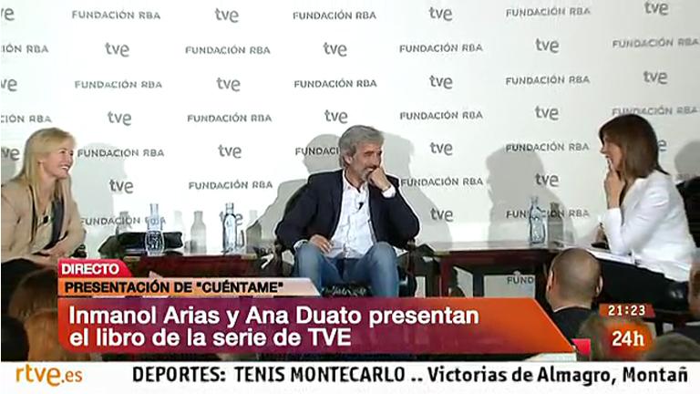 Cuéntame cómo pasó - Imanol Arias y Ana Duato presentan el libro de 'Cuéntame cómo pasó'