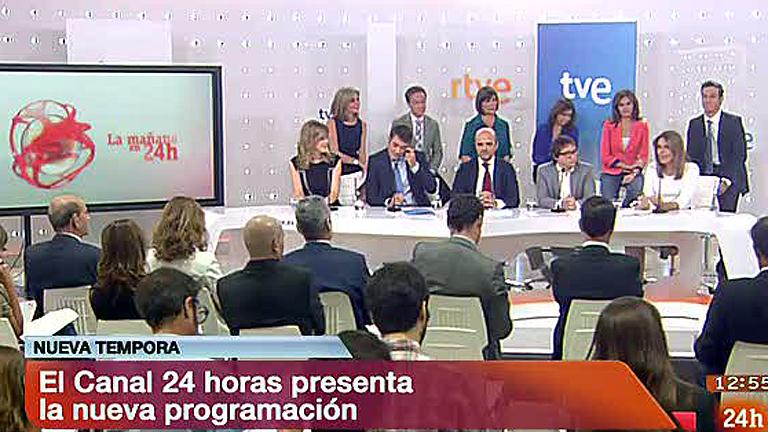 Presentación nueva temporada Canal 24h