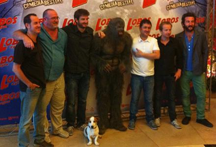Presentación de la película en Madrid