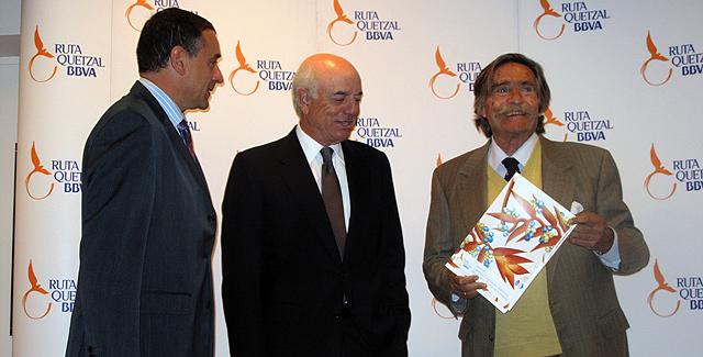 Presentación de la Ruta Quetzal BBVS 2012