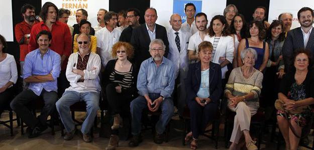 Presentación de la temporada de los teatros del Ayuntamiento de Madrid, este jueves en el Español
