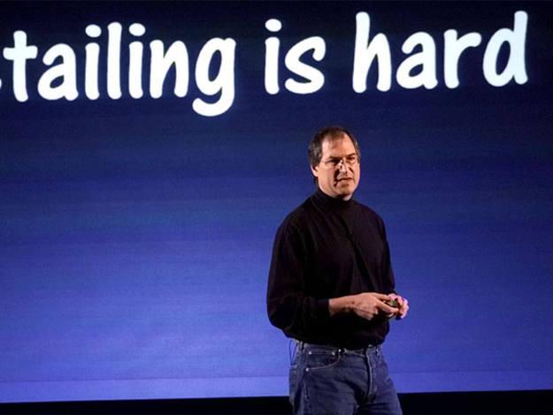 En una de las presentaciones de Apple en 2001