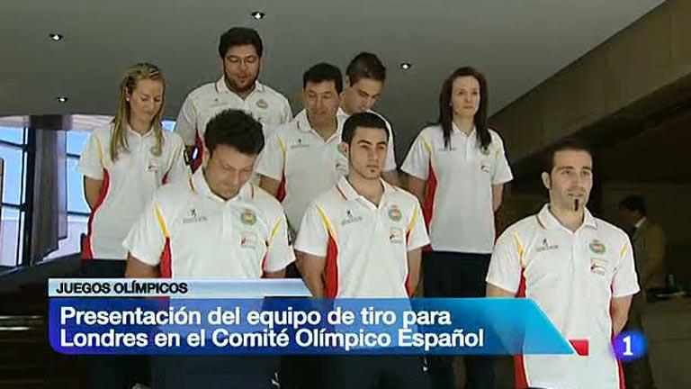 Presentada la delegación olímp
