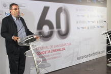 El presidente de la Academia de Cine, Enrique González Macho, el pasado viernes.