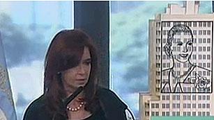 Ver vídeo  'La presidente argentina anuncia la expropiación de un 51% de YPF'