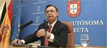 El presidente de la Ciudad Autónoma de Ceuta, Juan Jesús Vivas.