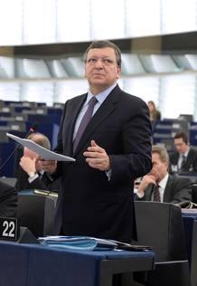 El presidente de la Comisión Europea, Jose Manuel Durao Barroso