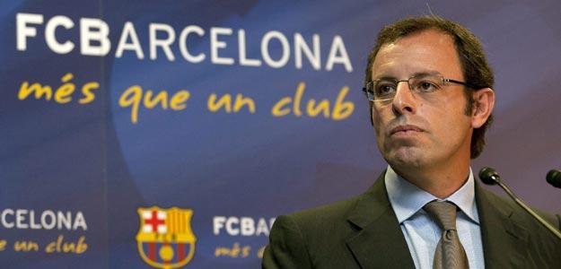 El presidente del FC. Barcelona, Sandro Rosell, en una imagen de archivo.