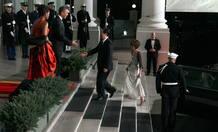 La visita oficial de Hu Jintao a EE.UU. termina con una cena en la Casa Blanca.