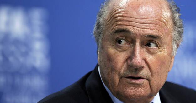 El presidente de la FIFA Joseph Blatter .