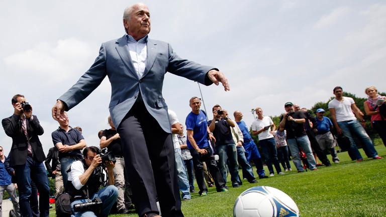 El presidente de la FIFA Joseph Blatter.