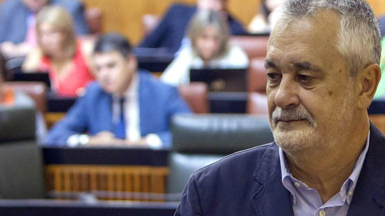 El presidente de la Junta de Andalucía, Jose Antonio Griñan, abandonará su cargo después del verano