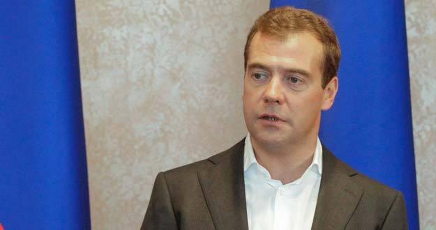 El presidente de Rusia, Dimitri Medvédev