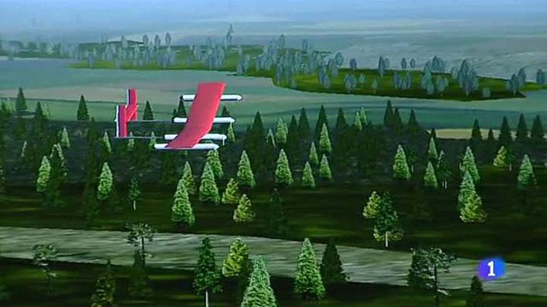 El primer drone solar fabricado en España para la extinción de incendios