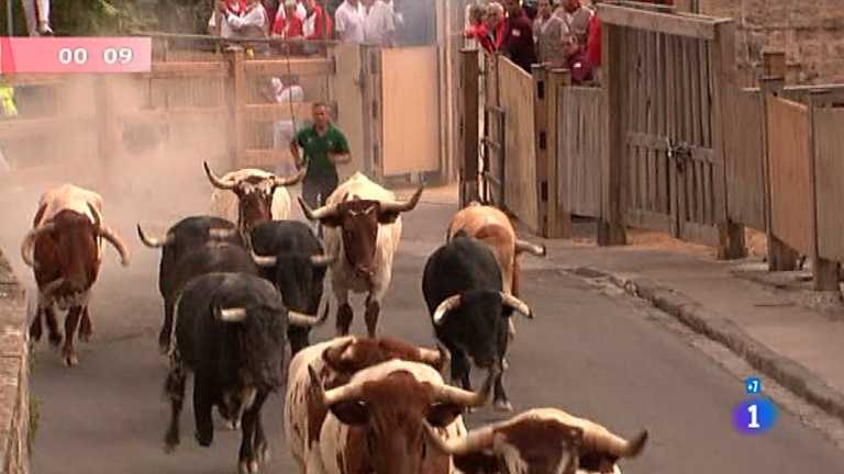 Primer encierro de San Ferm&iacute;n 2012