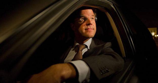 El primer ministro electo de Holanda, Mark Rutte