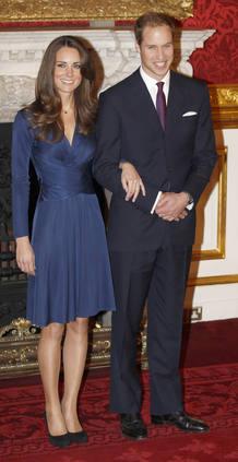 Primera aparición del príncipe Guillermo y Kate Middleton tras hacer público que se casarán