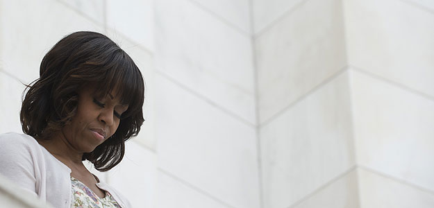 La primera dama de EE.UU., Michelle Obama, en una imagen de archivo de mayo de 2013.