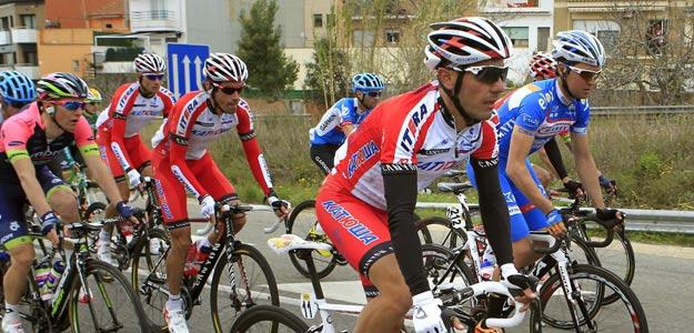 """El ciclista español Joaquim """"Purito"""" Rodríguez, del Katusha, durante la Volta Ciclista a Catalunya."""