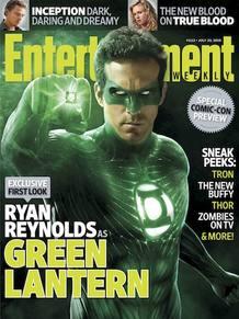 La primera imágen de Ryan Reynolds como 'Green Lantern' (Linterna verde)