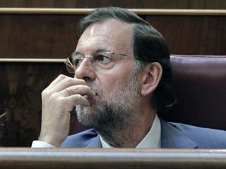 Ver vídeo  'Primera impresión de Mariano Rajoy después del discurso de Zapatero'
