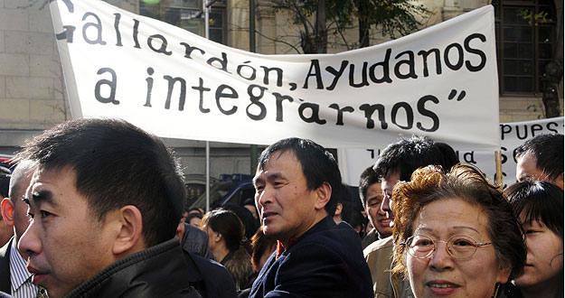 Primera manifestación en Madrid para pedir que les permitan vender alcohol