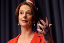 La primera ministra de Australia, Julia Gillard consolida su liderazgo en la votación intena de febrero de 2012