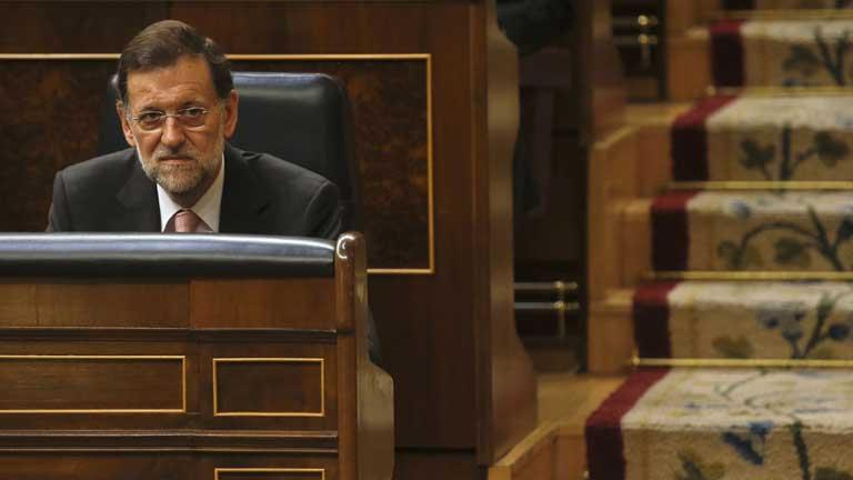 El posible rescate monopoliza la primera sesión de control al gobierno de este curso parlamentario