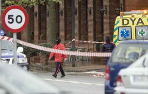 Ver v?deo  'Primeras imágenes del lugar en el que Ignacio Uría ha sido asesinado'
