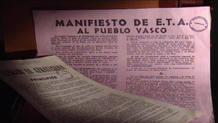 Primeros documentos con los que ETA se dio a conocer: 'Principios de ETA' y 'Manifiesto de ETA al pueblo vasco'
