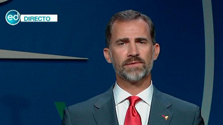 """Príncipe Felipe: """"Toda España quiere los Juegos"""""""