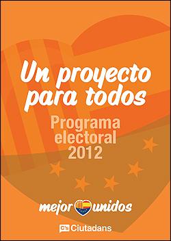 Programa Ciutadans elecciones catalanas