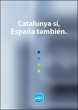 Programa del PP elecciones catalanas