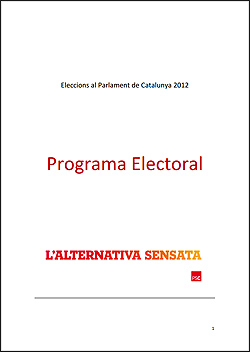 Programa electoral del PSC
