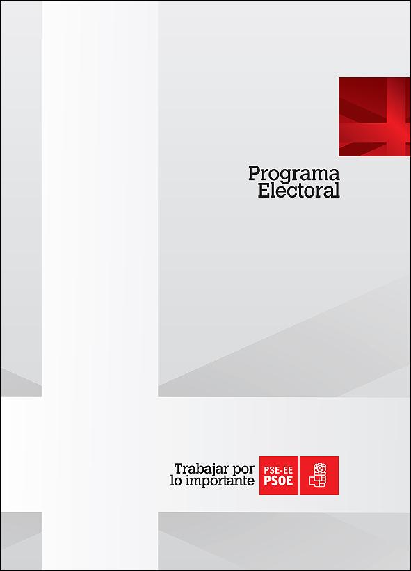 Programa electoral del PSE-PSOE