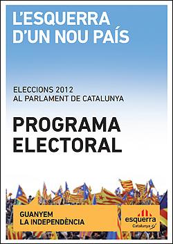 Programa de ERC elecciones catalanas