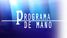 Programa de mano
