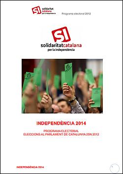 Programa de SI elecciones catalanas