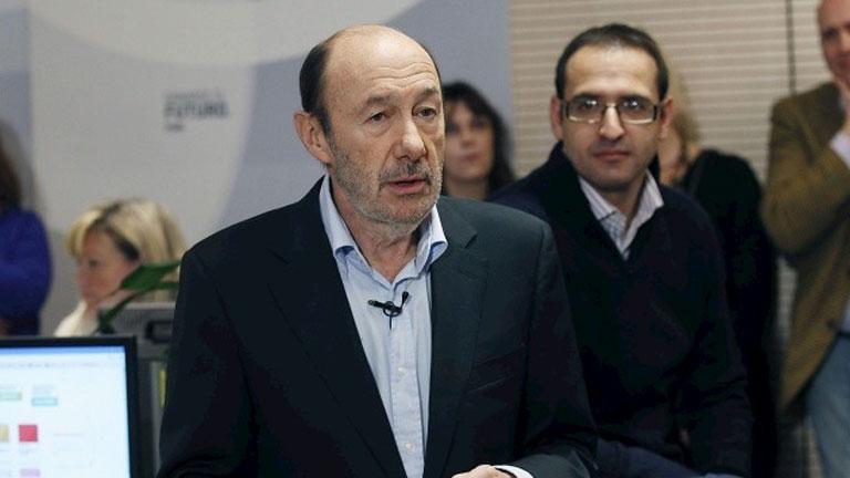 Rubalcaba propone un gran pacto nacional para hacer frente al desempleo