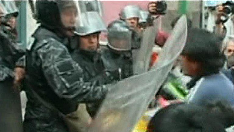 Protestas en Bolivia contra la ley que proscribe el trabajo infantil