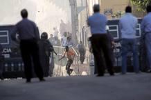 Protesta en Melilla para pedir empleo